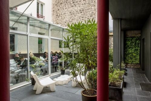 Hotel Le Quartier Bercy Square - Breakfast Room & Garden